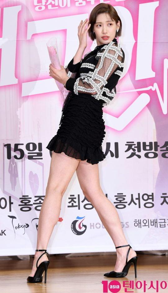 안하무인 재벌 상속녀 다이애나 역의 배우 홍서영. /조준원 기자 wizard333@