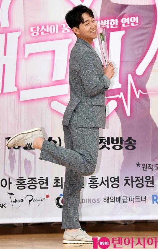 공학박사 남보원 역의 배우 최성원. /조준원 기자 wizard333@