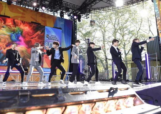 그룹 방탄소년단 / 사진제공=Walt Disney Television/Paula Lobo