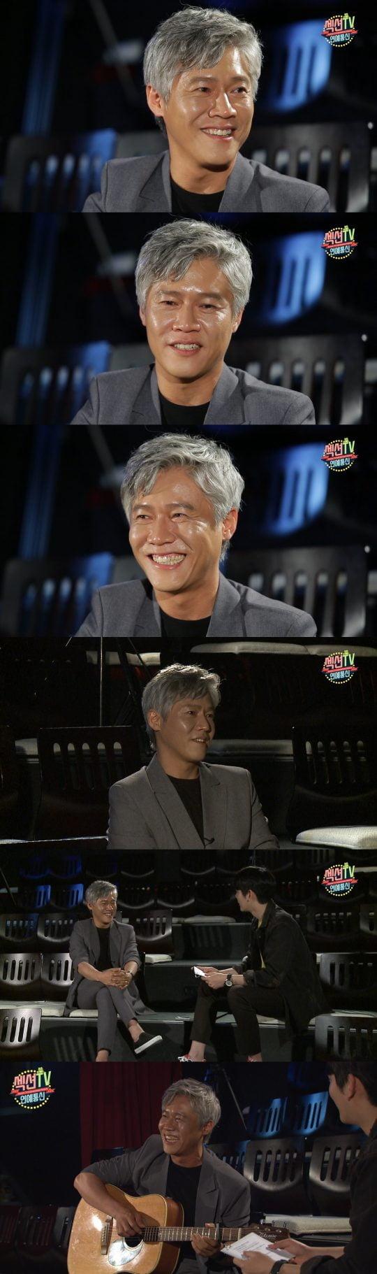 MBC '섹션TV 연예통신'에 출연한 박호산./사진제공=MBC