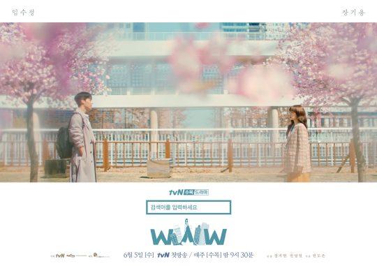 tvN 'WWW' 로맨스 포스터/사진제공=tvN