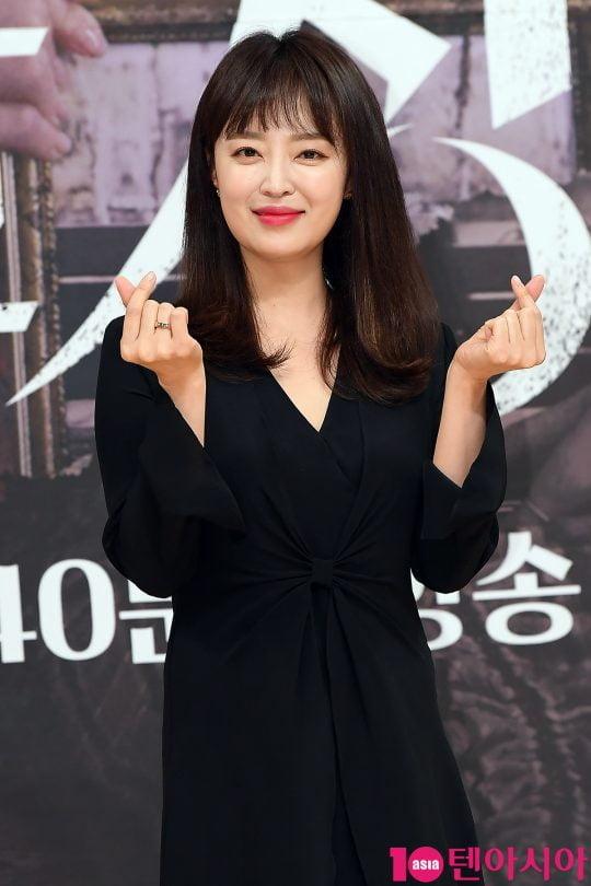 배우 안연홍이 16일 오후 서울 목동 SBS 사옥에서 열린 '수상한 장모' 제작발표회에 참석했다. /이승현 기자 lsh87@