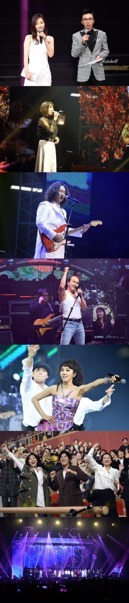 '불타는 청춘 콘서트 / 사진제공=SBS