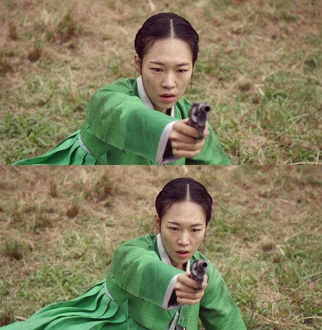 '녹두꽃' 한예리, 누구에게 총 겨눴나 '역대급 위기 예고'