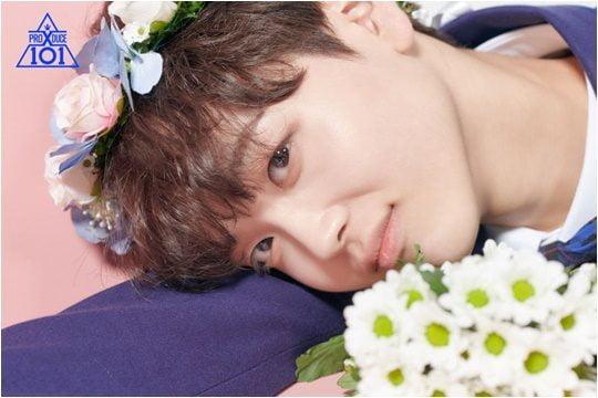 Mnet 아이돌 서바이벌 '프로듀스X101'에서 X반의 리더를 맡은 송형준./ 사진제공=Mnet