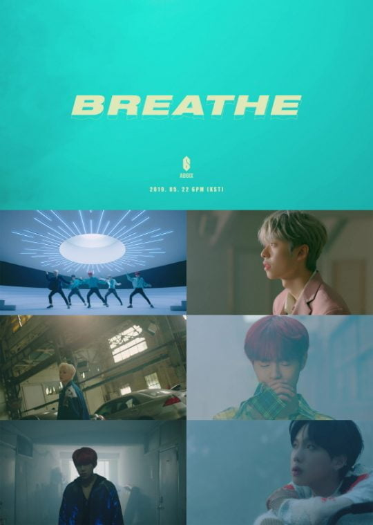 그룹 AB6IX 'BREATHE' 뮤직비디오 티저 영상 / 사진제공=브랜뉴뮤직