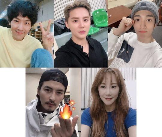 뮤지컬 '엑스칼리버' 출연 배우들. / 제공=EMK뮤지컬컴퍼니
