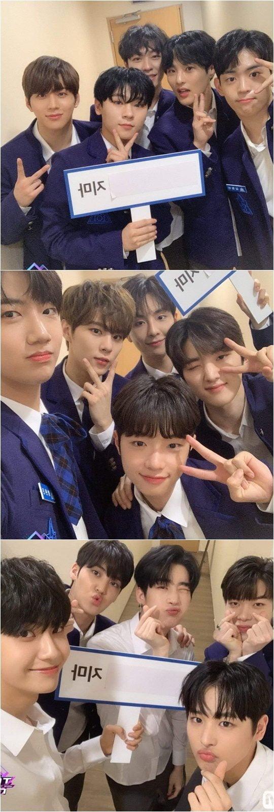 Mnet 아이돌 서바이벌 '프로듀스X101' 연습생./ 사진제공=Mnet