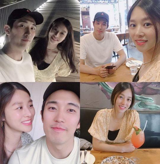 강경준-장신영./ 사진=인스타그램