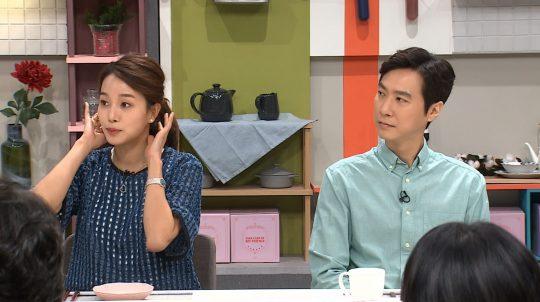 '냉장고를 부탁해' 허양임(왼쪽), 고지용 부부./사진제공=JTBC