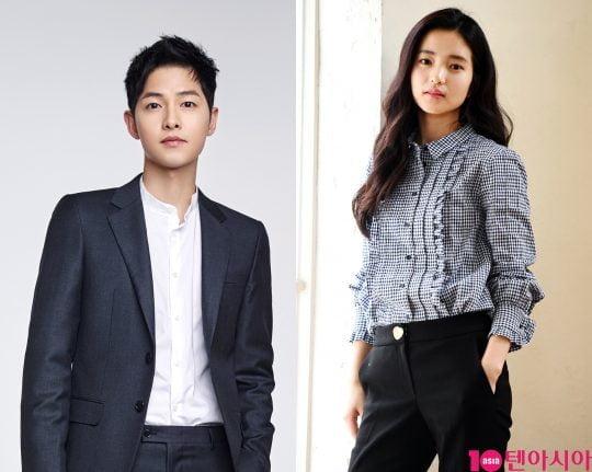 영화 '승리호' 주연을 맡은 배우 송중기(왼쪽부터), 김태리/사진제공=블러썸엔터테인먼트, 텐아시아DB