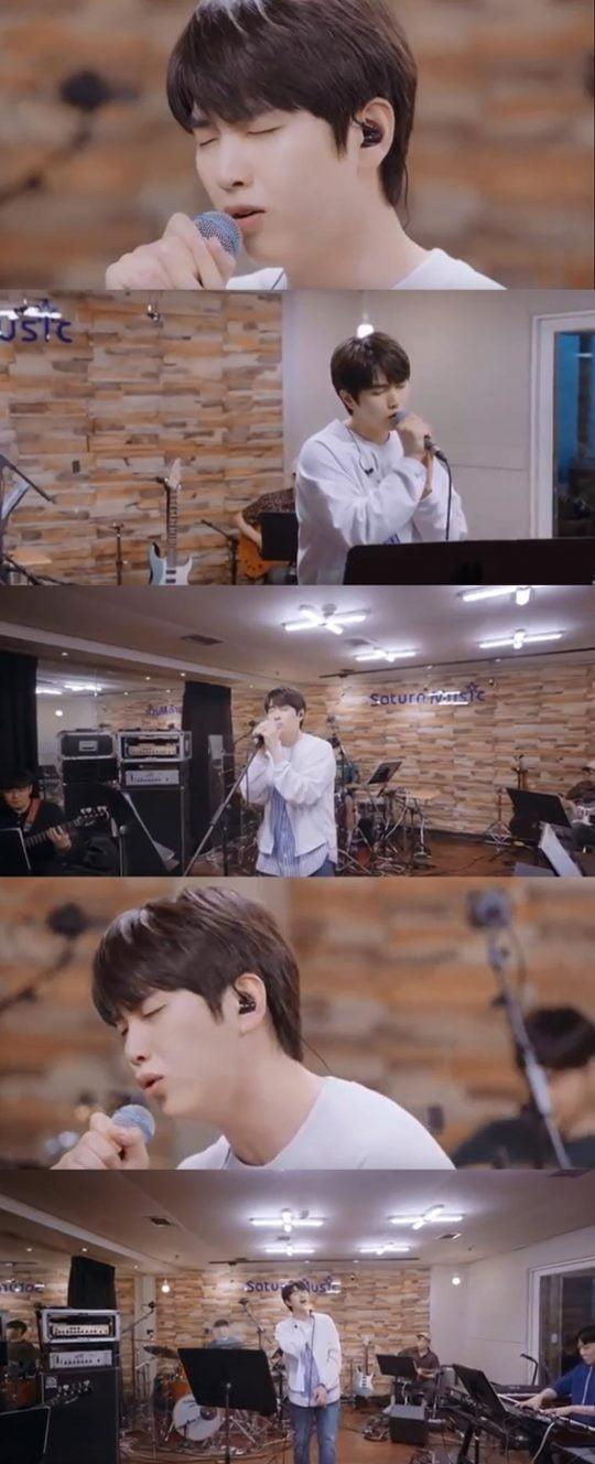 산들의 새 앨범 '날씨 좋은 날' 하이라이트 메들리 영상./사진제공=더블유엠엔터테인먼트