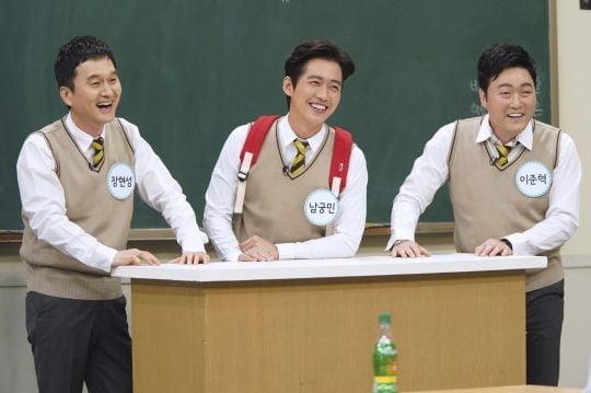 '아는 형님'의 배우 장현성(왼쪽부터), 남궁민, 이준혁./사진제공=JTBC
