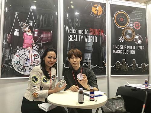 코스모 뷰티 서울 2019 참가 시오뉴, 해외바이어 및 참관 고객에 인기