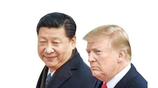 도널드 트럼프 미국 대통령과 시진핑 중국 국가주석, 양국의 무역전쟁 우려에 세계가 긴장하고 있다.