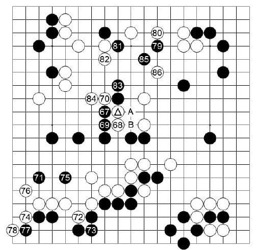 [제23기 하림배 여자국수전] 타개 승부