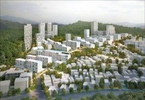 서울 '마지막 달동네' 백사마을, 10년 만에…재개발 심의 통과