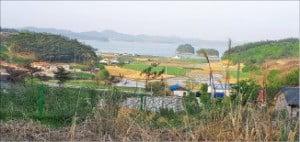 충남 서산시 바다 조망 농장 부지