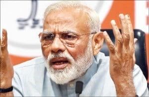 인도 증시 '모디 총선 승리' 축포…3.7% 급등
