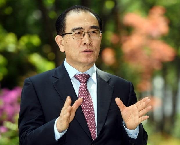 태영호 전 영국주재 북한공사 /허문찬 기자 sweat@hankyung.com
