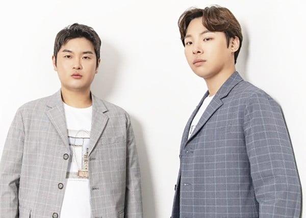 사진= 트로트 작곡가 팀, 플레이사운드의 알고보니혼수상태(왼쪽)와 김지환.  /한경닷컴DB.