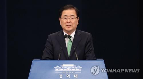 """정의용 """"대북 식량지원은 안보와 무관…같은 동포로서 검토"""""""
