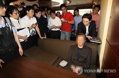 '함바비리' 유상봉, 경찰고위직 검찰에 진정…경찰, 의도 의심