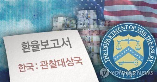 한국, 올 가을엔 美 '환율관찰대상국'서 벗어날까