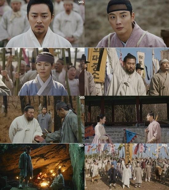 `녹두꽃` 조정석X최무성, 한 배 탔다…최고시청률 11.32%