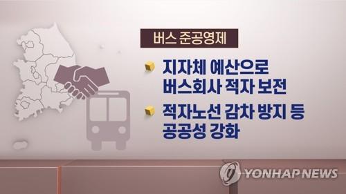 [버스 준공영제] ②연 2500억 지원금 '눈먼 돈'…감독 '구멍'