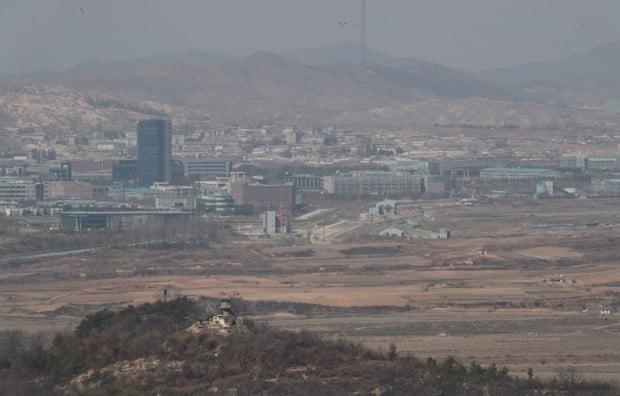 도라전망대에서 바라본 개성공단 모습. 사진=연합뉴스