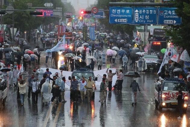 5·18 39주년…오늘 날씨 이른 더위 한풀 꺾여(사진=연합뉴스)