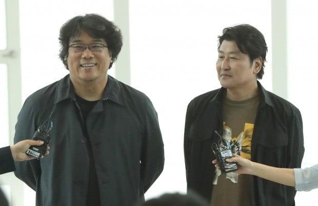 '기생충' 봉준호, 송강호/사진=연합뉴스