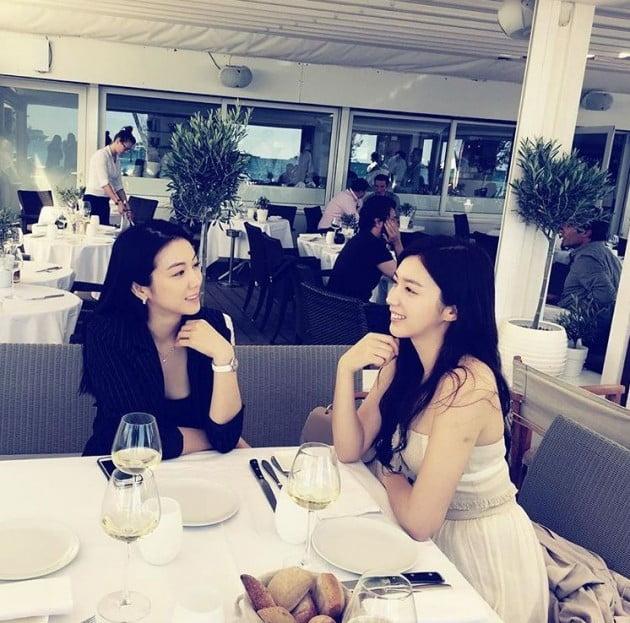 김옥빈, 채서진/사진=김옥빈 인스타그램