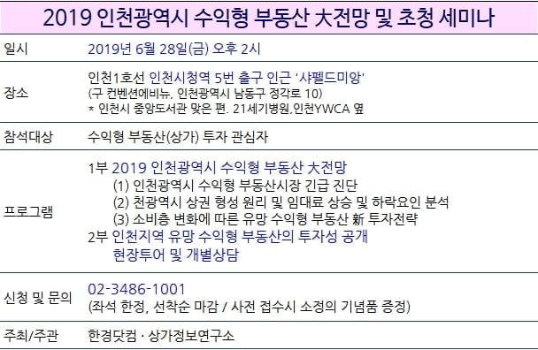 [한경부동산] 서울 26일, 인천 28일 유망 수익형부동산 초청 세미나 개최