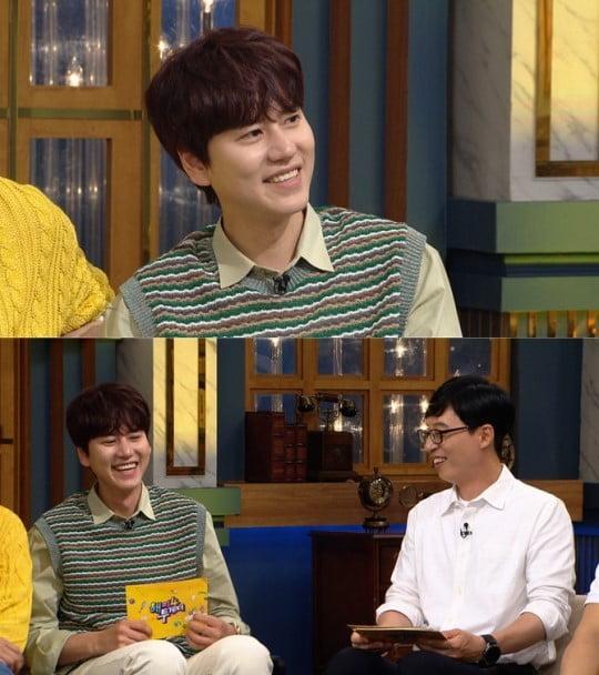 규현, 엄기준 열애설 언급/사진=KBS 2TV '해피투게더4'