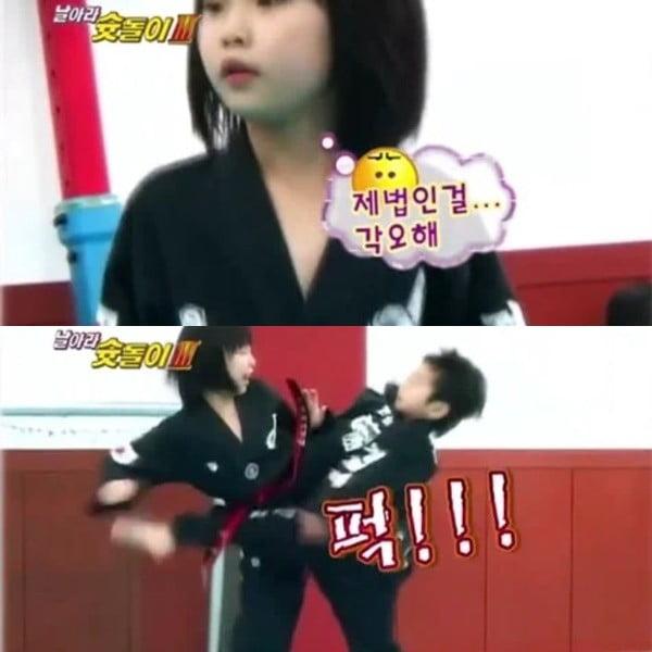 이강인 누나/사진=KBS N SPORTS '날아라 슛돌이 3기' 영상 캡처