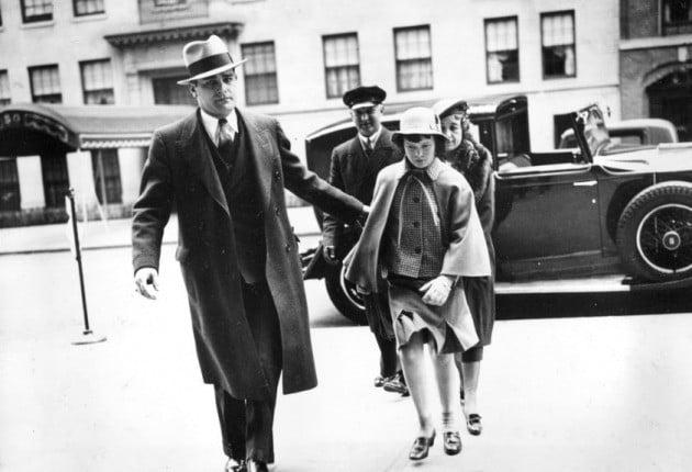 어린시절 글로리아 밴더빌트(1935년 촬영) [AP=연합뉴스]