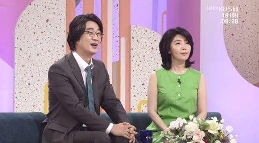 여에스더, 홍혜걸/사진=KBS 1TV '아침마당' 영상 캡처