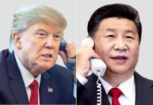 트럼프 대통령(왼쪽)과 시진핑 주석. / 사진=한경 DB