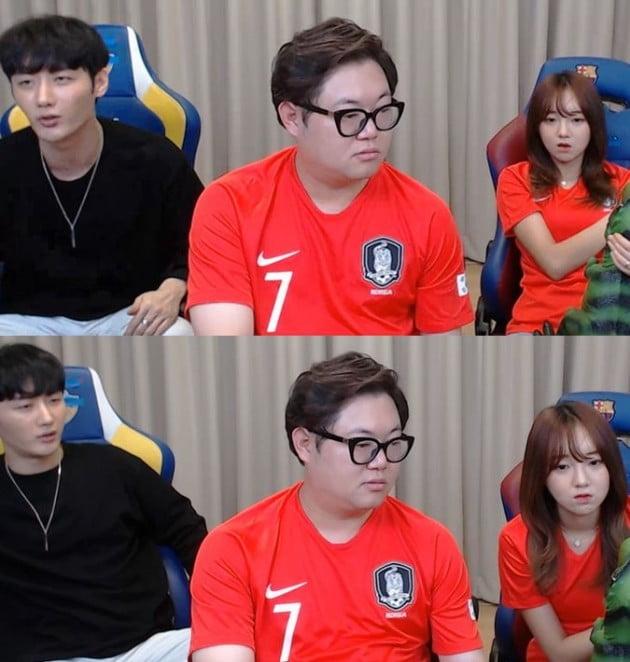 NS남순, 감스트, 외질혜 /사진=방송화면 캡처
