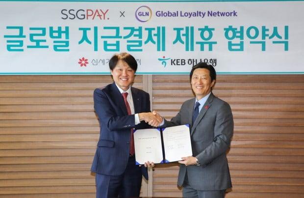 하나금융그룹 GLN, SSG페이와 글로벌 '지급결제시장' 진출
