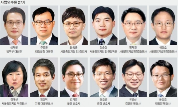 전직 대통령 2명 구속 한동훈…지평 창립 멤버 임성택