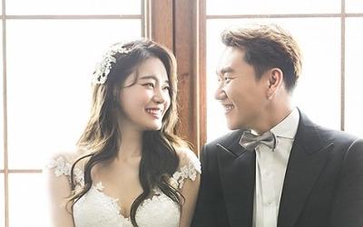 웨딩화보 공개한 '서유리'…신랑 누군가 보니