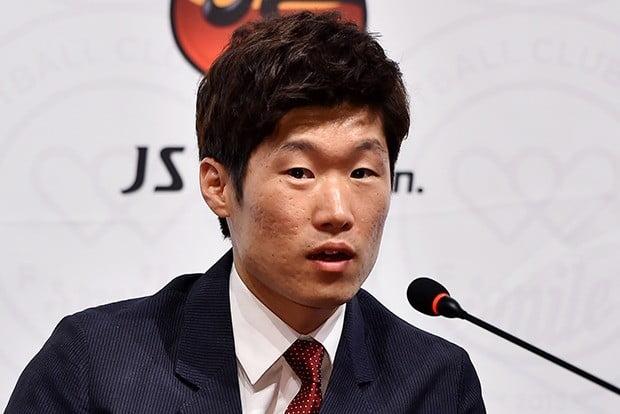박지성 모친상