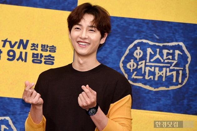 tvN '아스달 연대기' 제작발표회 송중기, 사진 / 최혁 기자