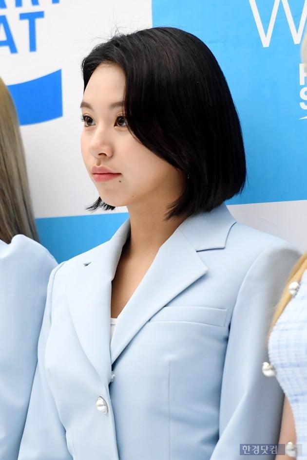 [포토] 트와이스 채영, '포인트 매력점'