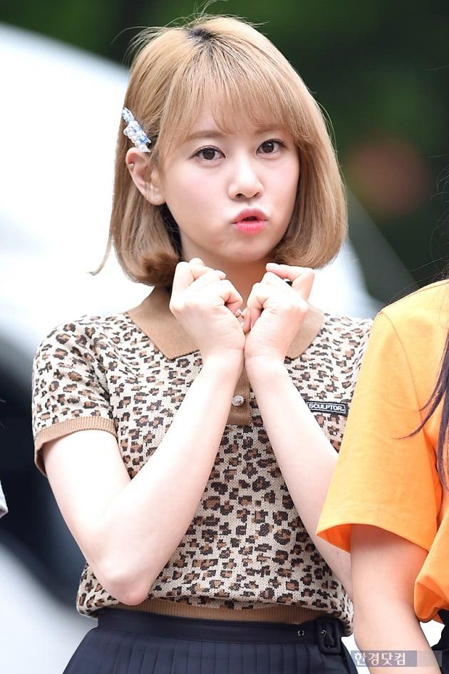 [포토] 체리블렛 보라, '귀엽게 츄~'