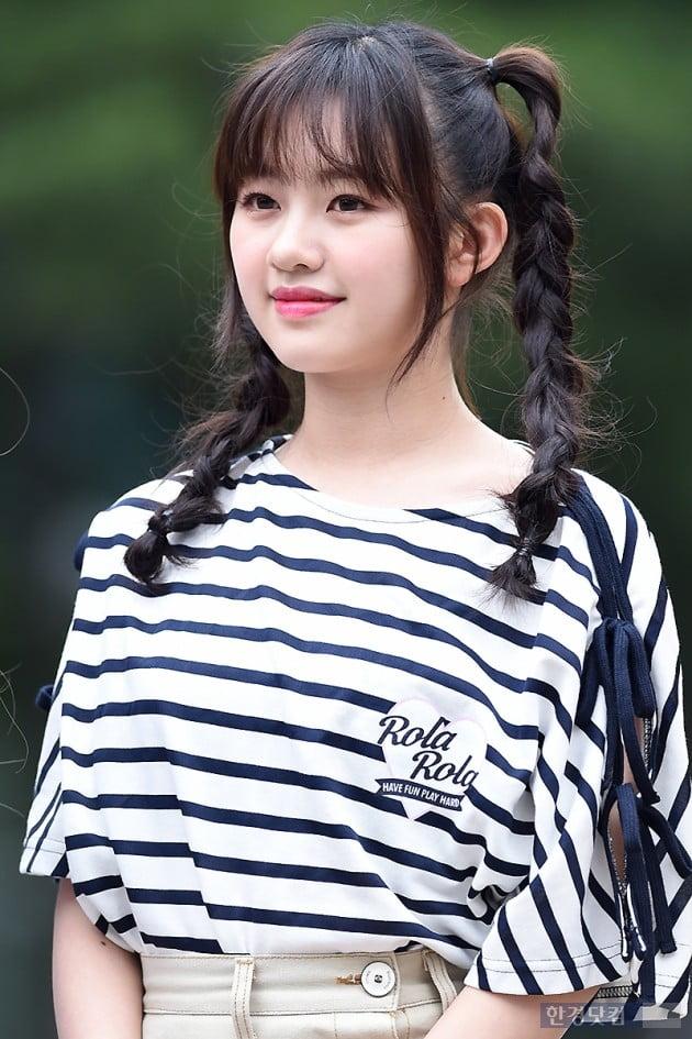 [포토] 체리블렛 코코로, '양갈래 머리로 귀엽게~'