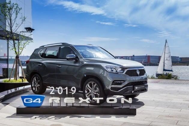 쌍용자동차가 판매 중인 2019년형 G4 렉스턴 / 사진=쌍용차